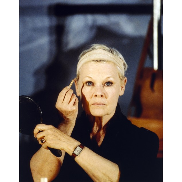 Judi Dench Close Up Portrait Poster