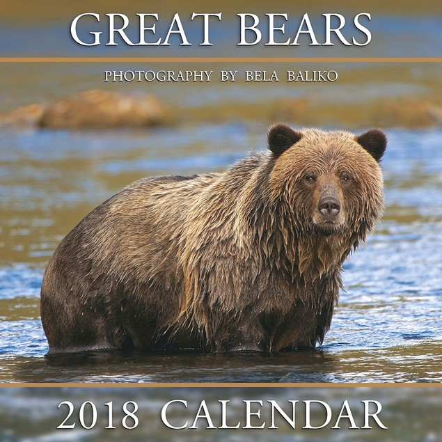 Great Bears Wall Calendar, Bears by Bela Baliko Photography