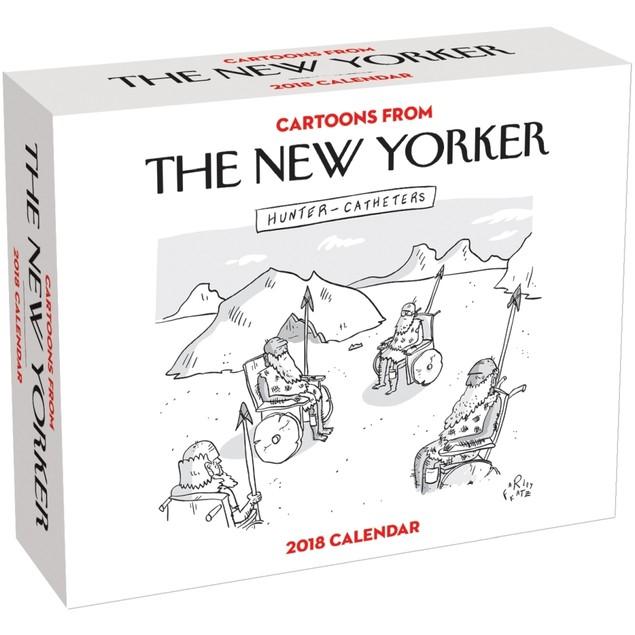 New Yorker Cartoons Desk Calendar, More Humor by Calendars