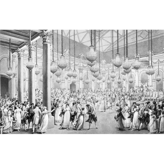 Napoleon: French Ball, 1810. /Na Ball Given On Occasion Of The Marriage Of