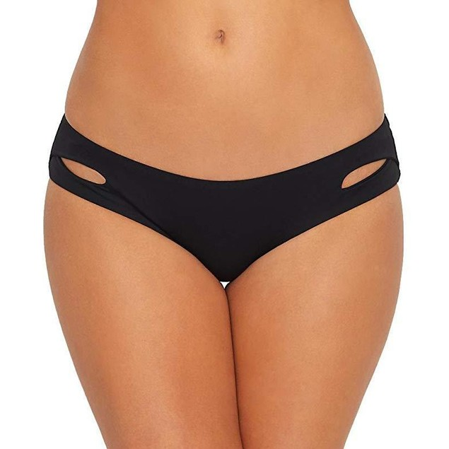 Becca by Rebecca Virtue Color Code Keyhole Hipster Bikini Bottom SZ M