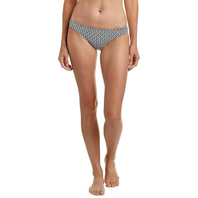 Splendid Women's Astoria Retro Bikini Bottom Black Pants Sz: M