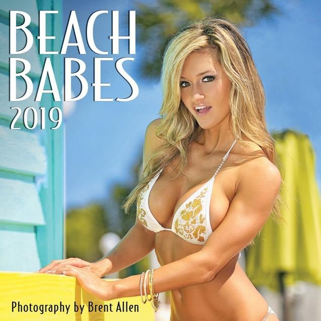 Beach Babes Wall Calendar, Swimsuit Models by Calendars