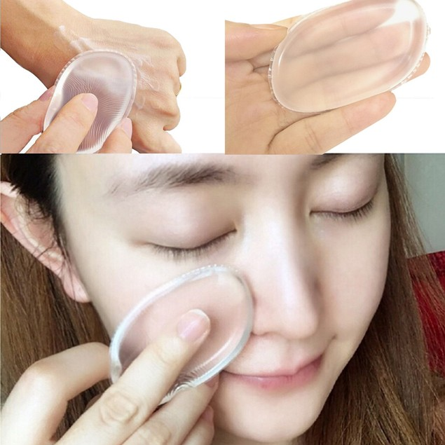1PC Silicone Blender Sponge Makeup Puff For Foundation BB Cream Essential