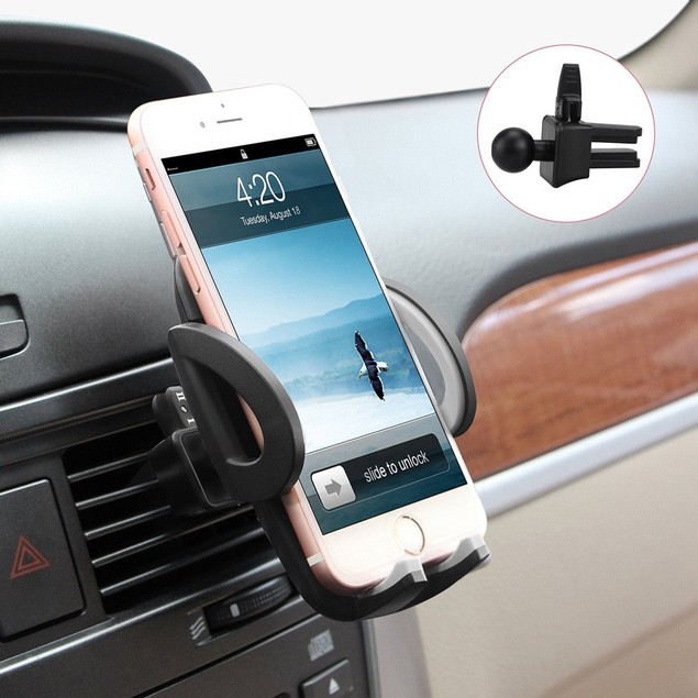 Universal Smartphones Car Air Vent Mount Holder Cradle