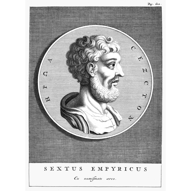 Sextus Empiricus (C160-C210). /Ngreek Physician And Philosopher. Copper Eng