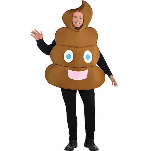 Poop Emoji Adult Costume