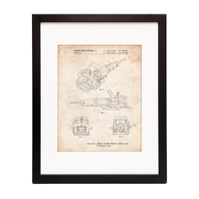 Plate Joiner Patent Poster