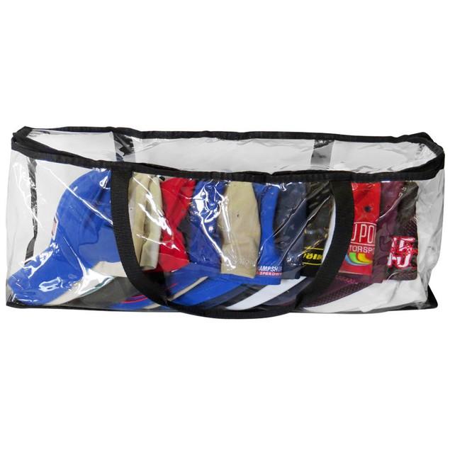 Hat Organizer, Baseball Cap Storage Bag, Zipper Closure, Up To 15 Hats