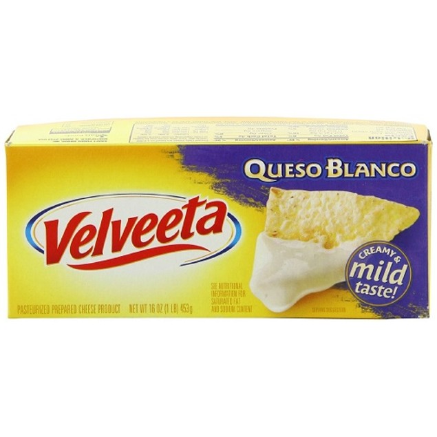 Kraft Velveeta Cheese Queso Blanco