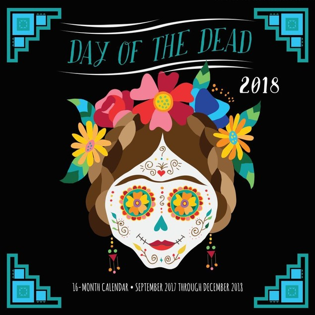 Day of the Dead Wall Calendar, Ethnic Art by Quarto
