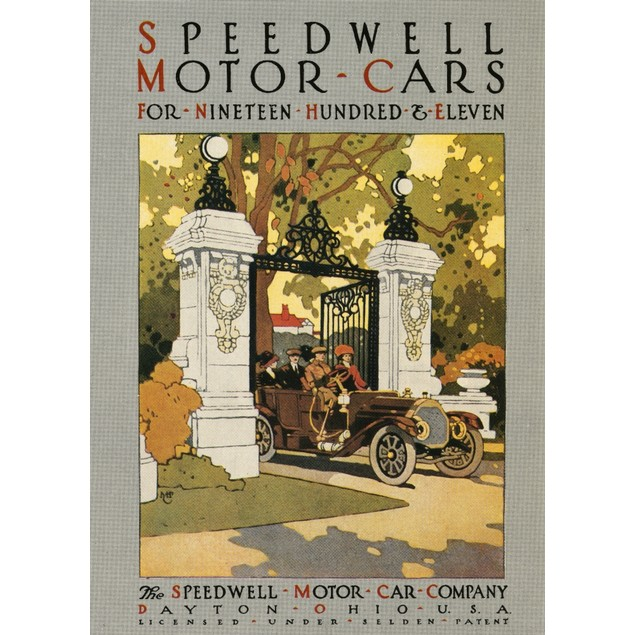 Ad: Speedwell, 1911. /Namerican Advertisement For Speedwell Automobiles, 19