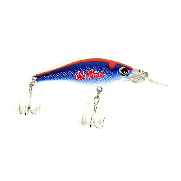 Ole Miss Rebels NCAA Minnow Fishing Lure
