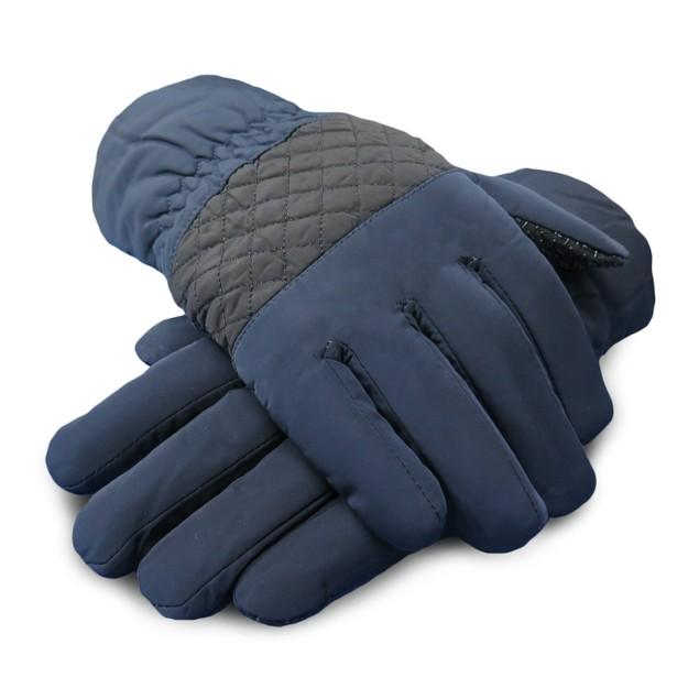 Winter Warm Windproof Waterproof Anti-Slip Grip Thermal Touch Screen Gloves