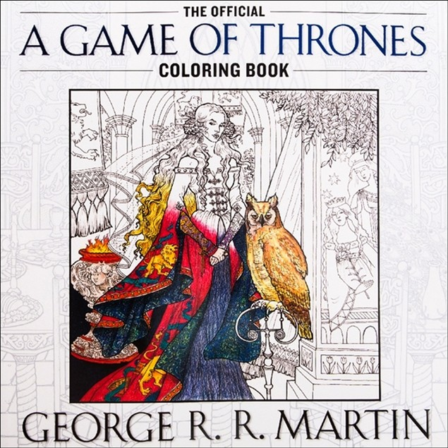 Game of Thrones Coloring Book, Drama TV by Random House