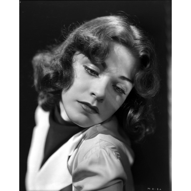 Marsha Hunt on a Puffed Sleeve Chin on Shoulder Poster