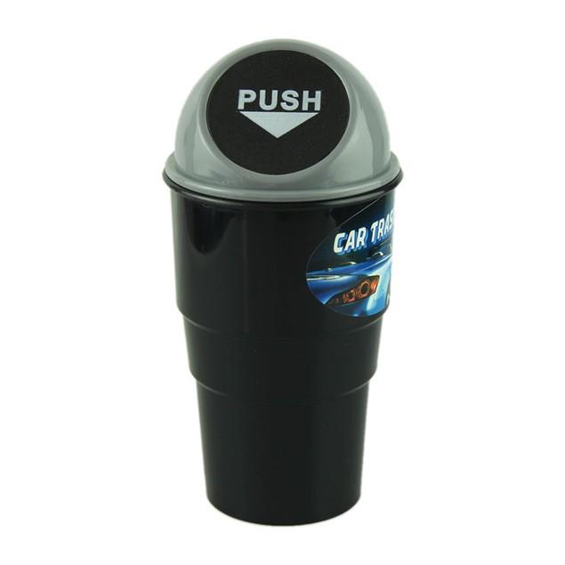 car garbage can Car Trash Can Garbage Dust Case Holder Bin