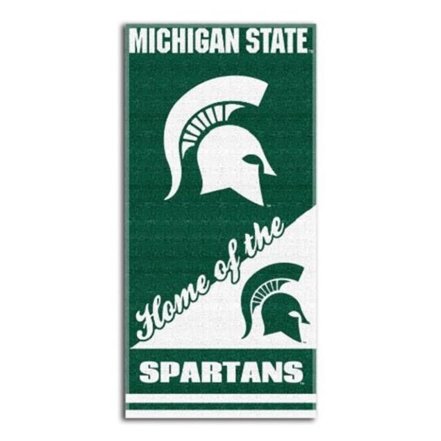 Michigan State Spartans NCAA Northwest Beach Bath Towel