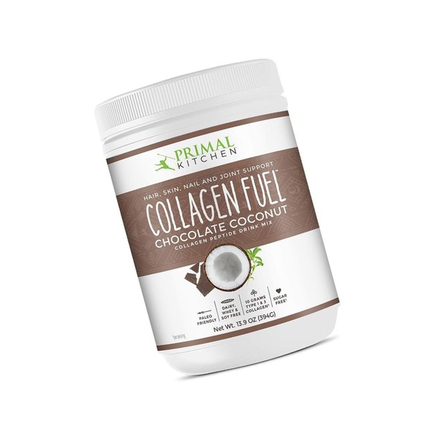 Kitchen Collagen Fuel Protein Mix, Chocolate Coconut,Non,Dairy Coffe