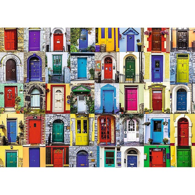 Doors of the World 1000 Piece Puzzle, Globetrotter by Ravensburger