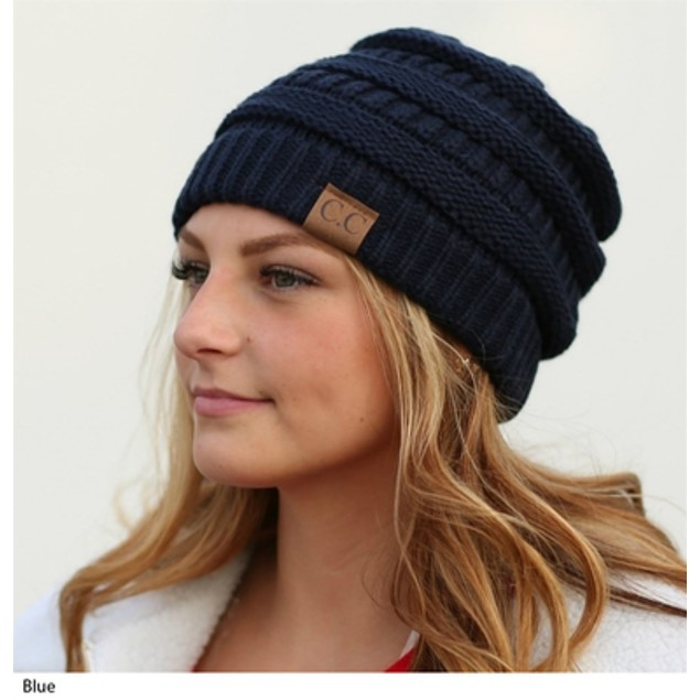 2-Pack Popular C.C. Knit Beanie Hat – 10 Colors