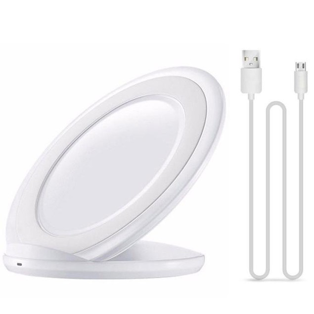 New Universal Qi Wireless Charger Charging Stand Dock