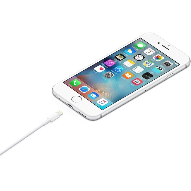 Apple Original Lightning To USB Cable MD818AM/A For iPhone 5, 6, 7, 8, X