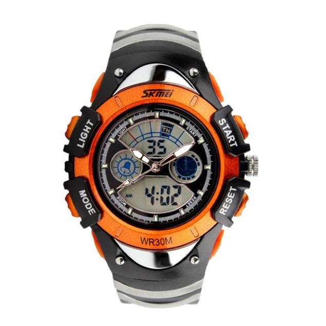 Skmei Kids Children LED Quartz Watch For Boy Girl Diving Wristwatch