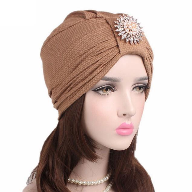 Women Cancer Chemo Hat Beanie Scarf Turban Head Wrap Cap E