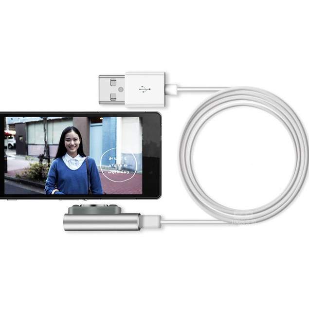Charging Cable W/LED For Sony Xperia Z3 L55t Z2 Z1 Compact XL39h