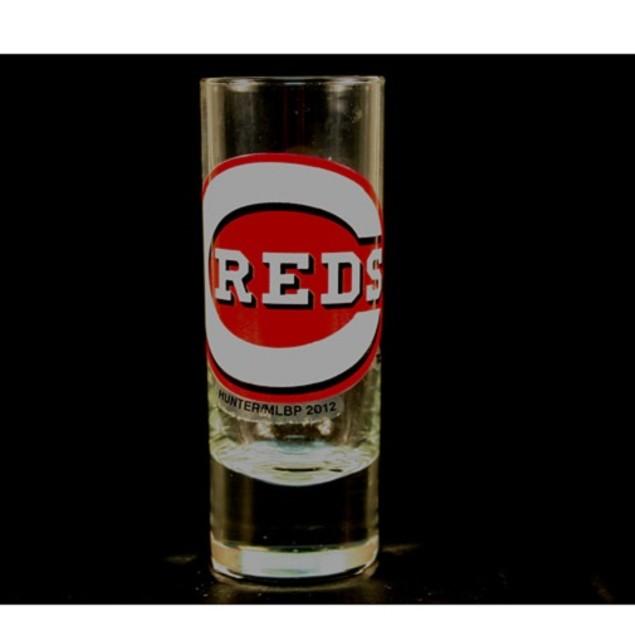 "Cincinnati Reds MLB ""Hype"" Tall Shot Glass"