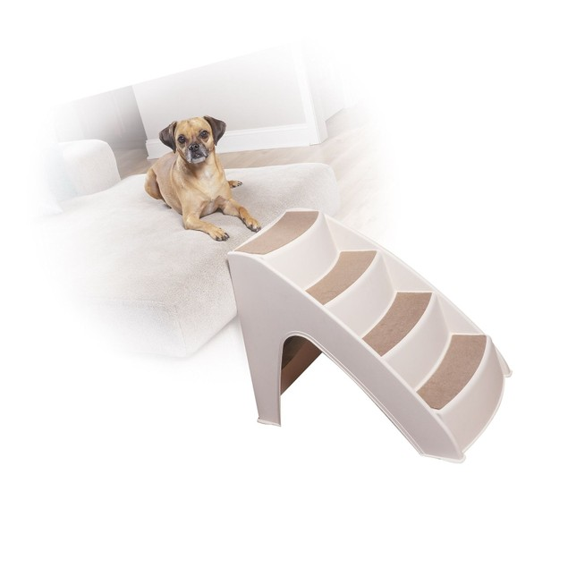 PetSafe Solvit PupSTEP Lite Pet Stairs, Steps for Dogs