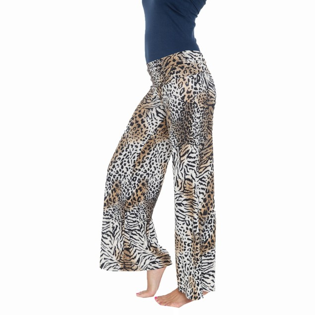 Leopard Printed Palazzo Pants