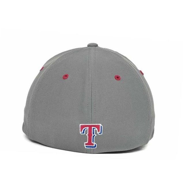 "Texas Rangers MLB 47' Brand ""Fission"" Stretch Fitted Hat"