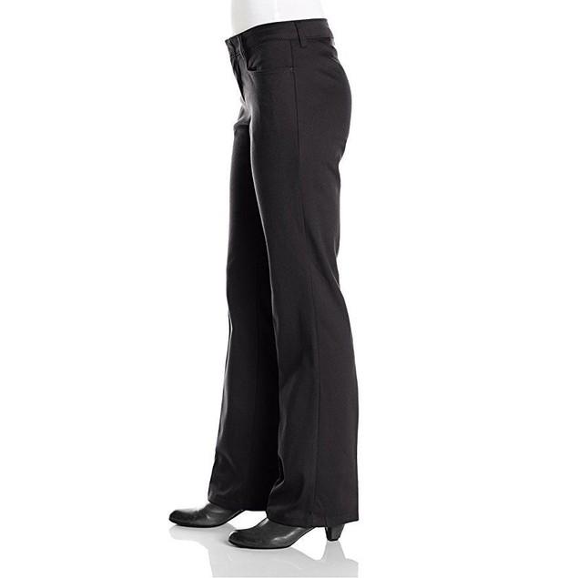 Dickies Juniors Classic Stretch Bootcut Pant, Black, 7