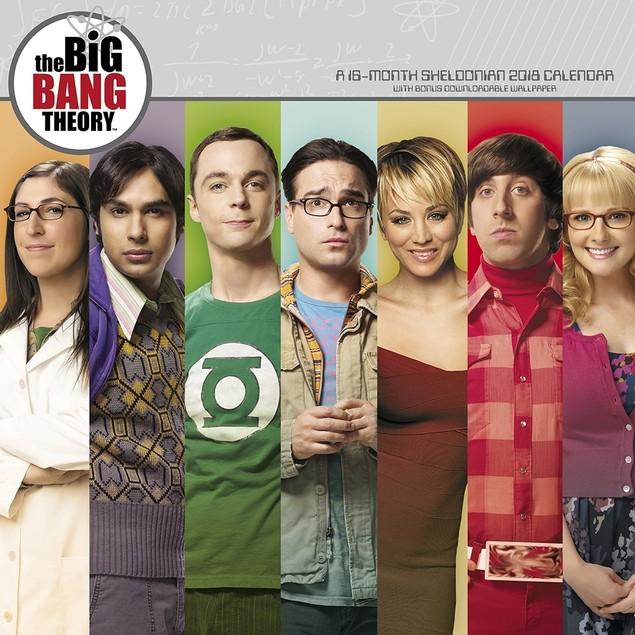 The Big Bang Theory Wall Calendar, Comedy TV by Calendars