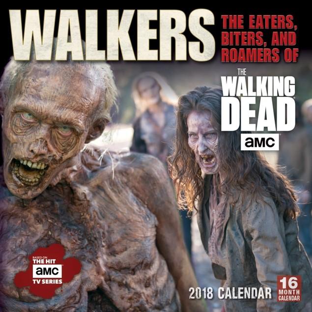 Walkers of AMC's The Walking Dead Wall Calendar