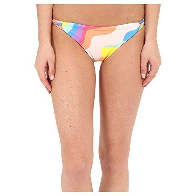 Mara Hoffman Women's Aura Light Basket Weave Bikini Bottom SIZE SMALL