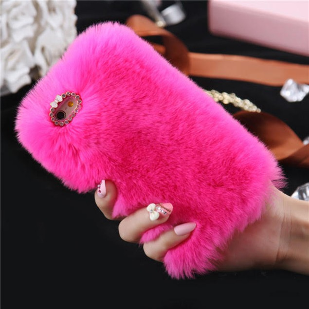 Fur Case For models: iPhone 7/8, iPhone 7/8 Plus, and iPhone X