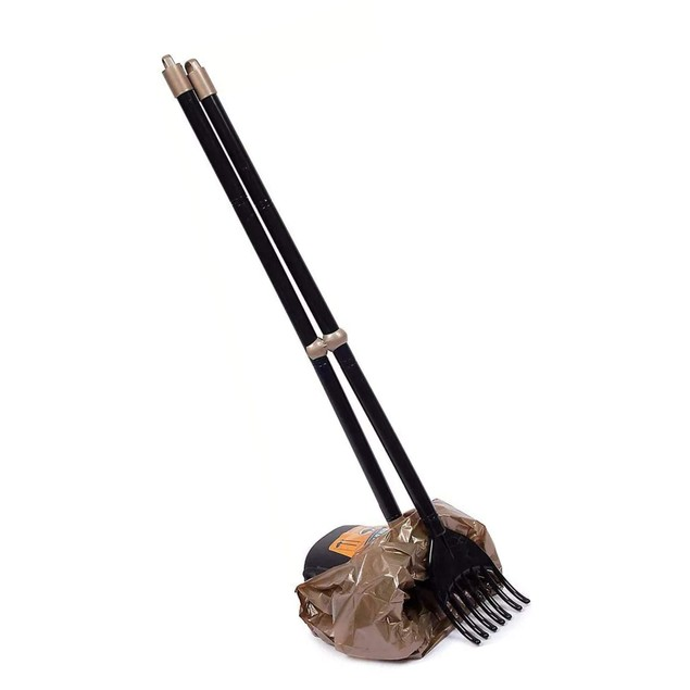 Petmate 71034 Arm & Hammer Swivel Bin & Rake