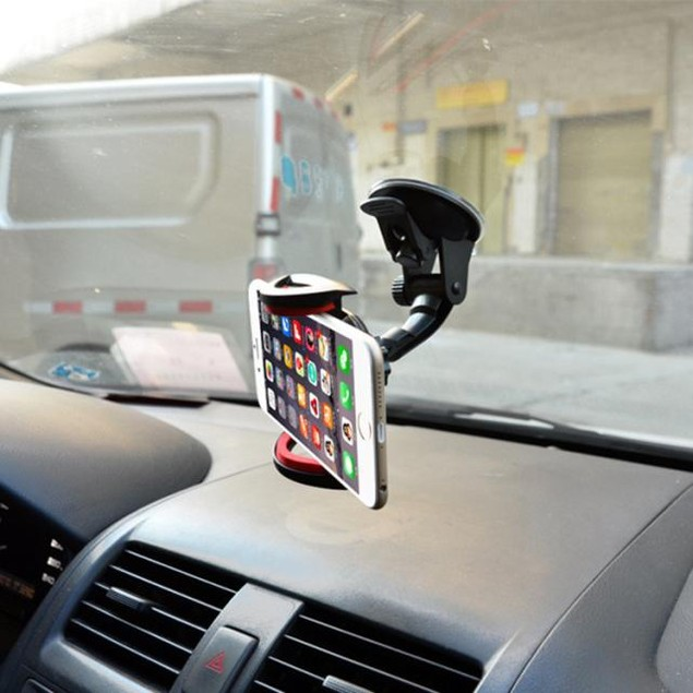 For Cell Phone GPS 360 Car Windscreen Dashboard Mount Stand Holder