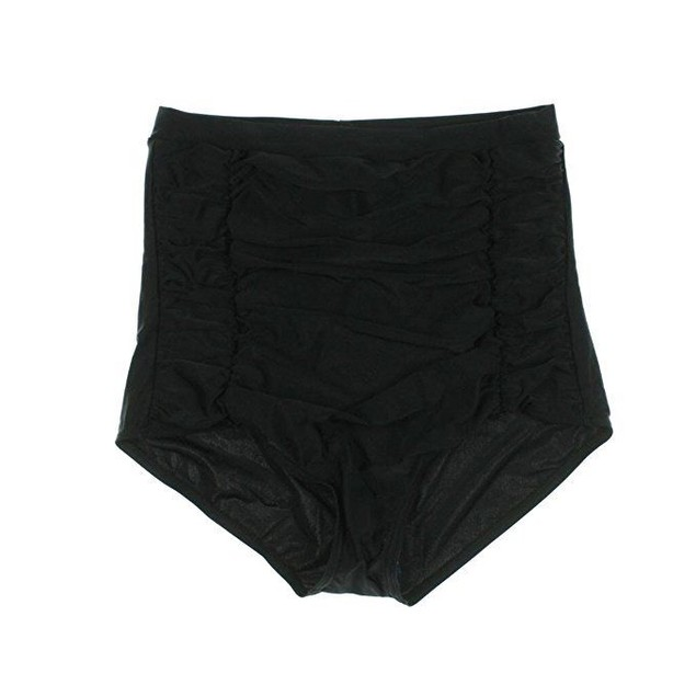Unique Vintage Women's Monroe Bikini Bottom Black Small
