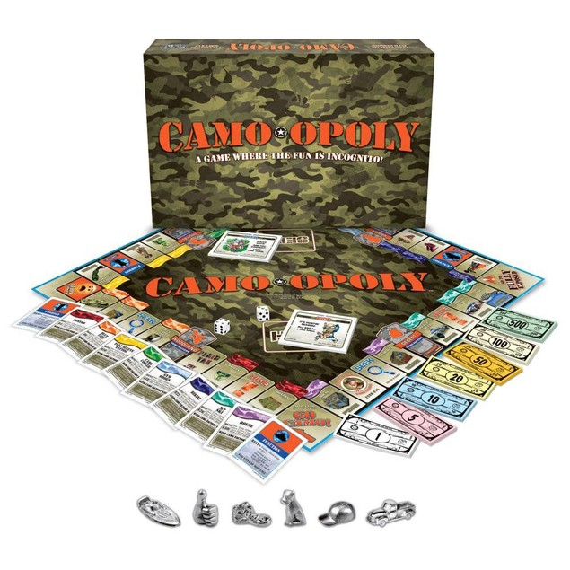 Camo-Opoly, Hunting   Fishing by Late For The Sky Production Co.
