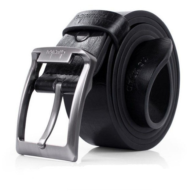 Men's Single-Prong Belt with Metal Buckle