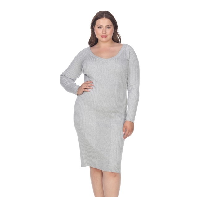 Destiny Sweater Dress - 6 Colors - Extended Sizes