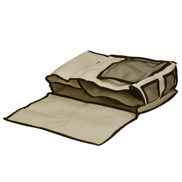 6-Pocket Chairside/Bedside Remote & Book Caddy