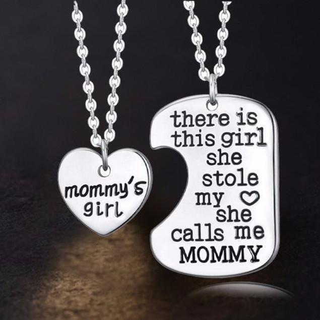 Mommy's Girl Charm Pendant