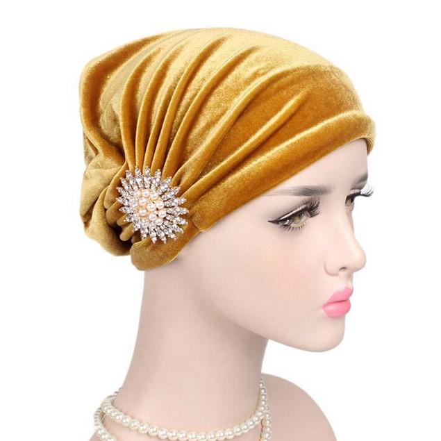 Women Cancer Chemo Hat Beanie Scarf Turban Head Wrap Cap