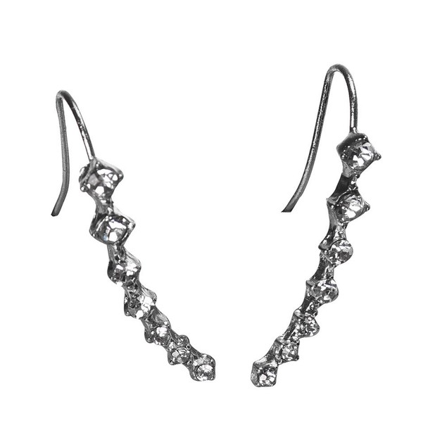 Rhinestone Crystal Earring Crawlers