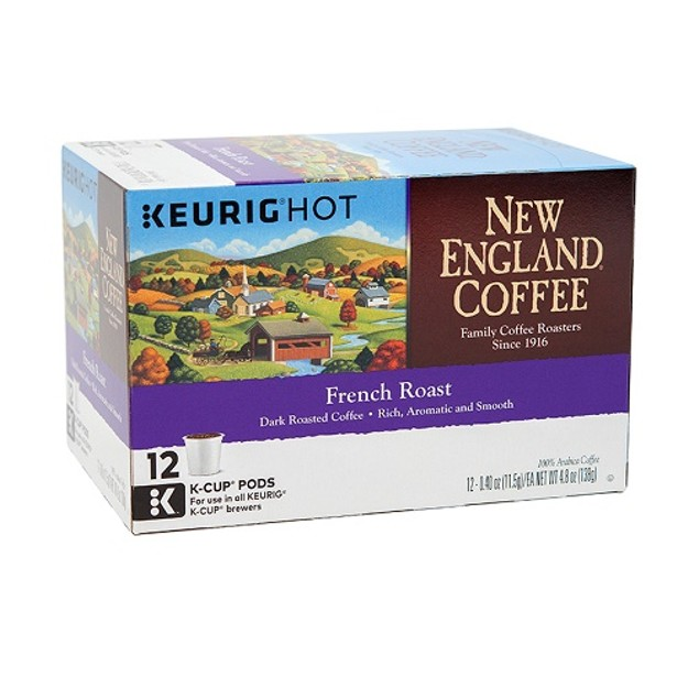 New England Coffee French Roast Keurig K Cup